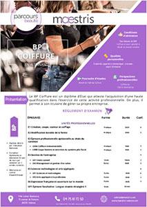 Programme Maestris Beauté Valence