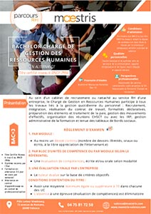 Programme Maestris Ressources humaines Valence